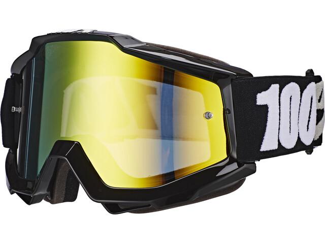 100% Accuri Anti Fog Mirror Goggles tornado